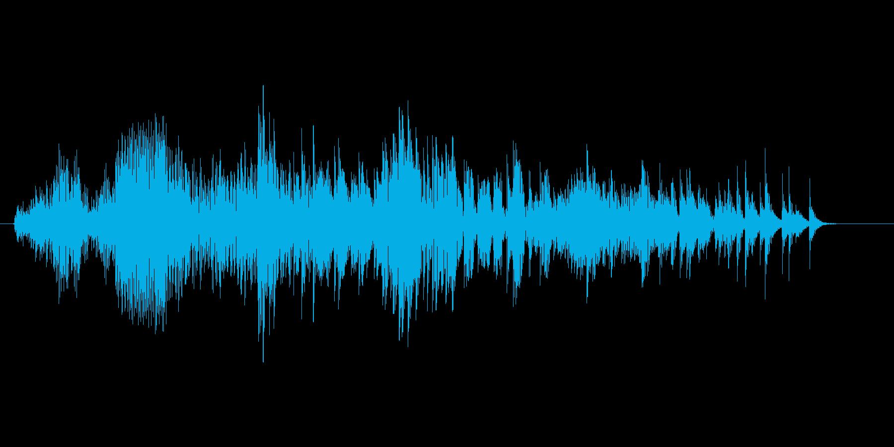 魔物、ゾンビ「うえー」の再生済みの波形