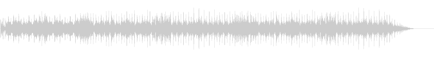 ファミコンシューティング風ループBGMの未再生の波形