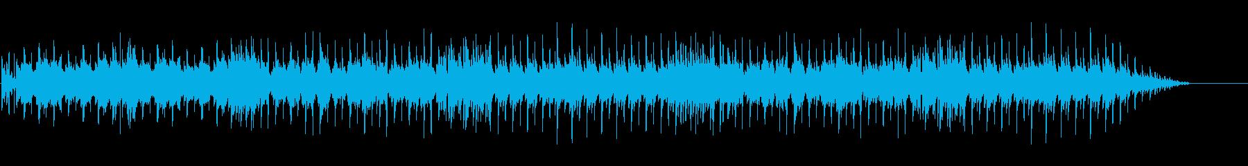 ファミコンシューティング風ループBGMの再生済みの波形
