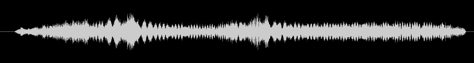 特撮 インターフェース計算04の未再生の波形