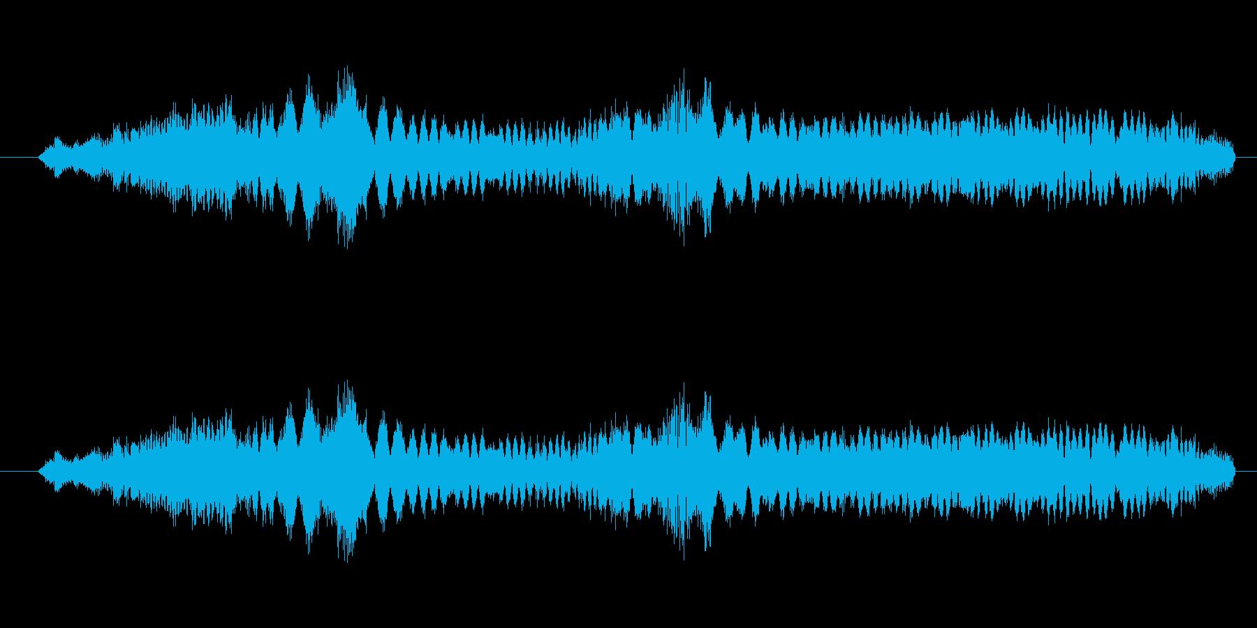 特撮 インターフェース計算04の再生済みの波形