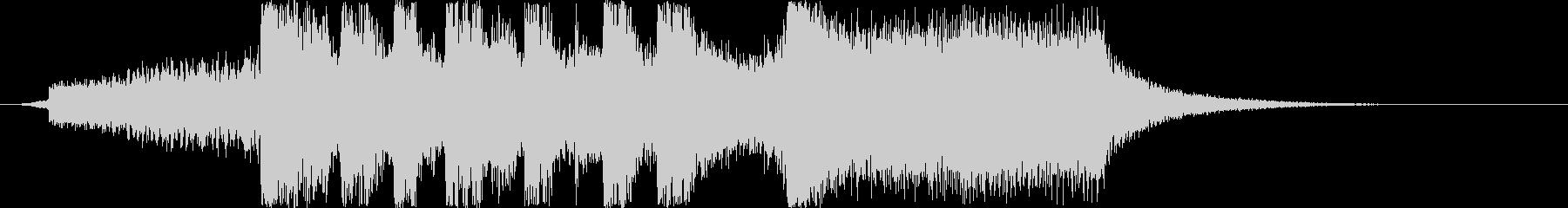 シンセオープニングインパクトの未再生の波形