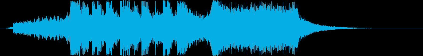 シンセオープニングインパクトの再生済みの波形