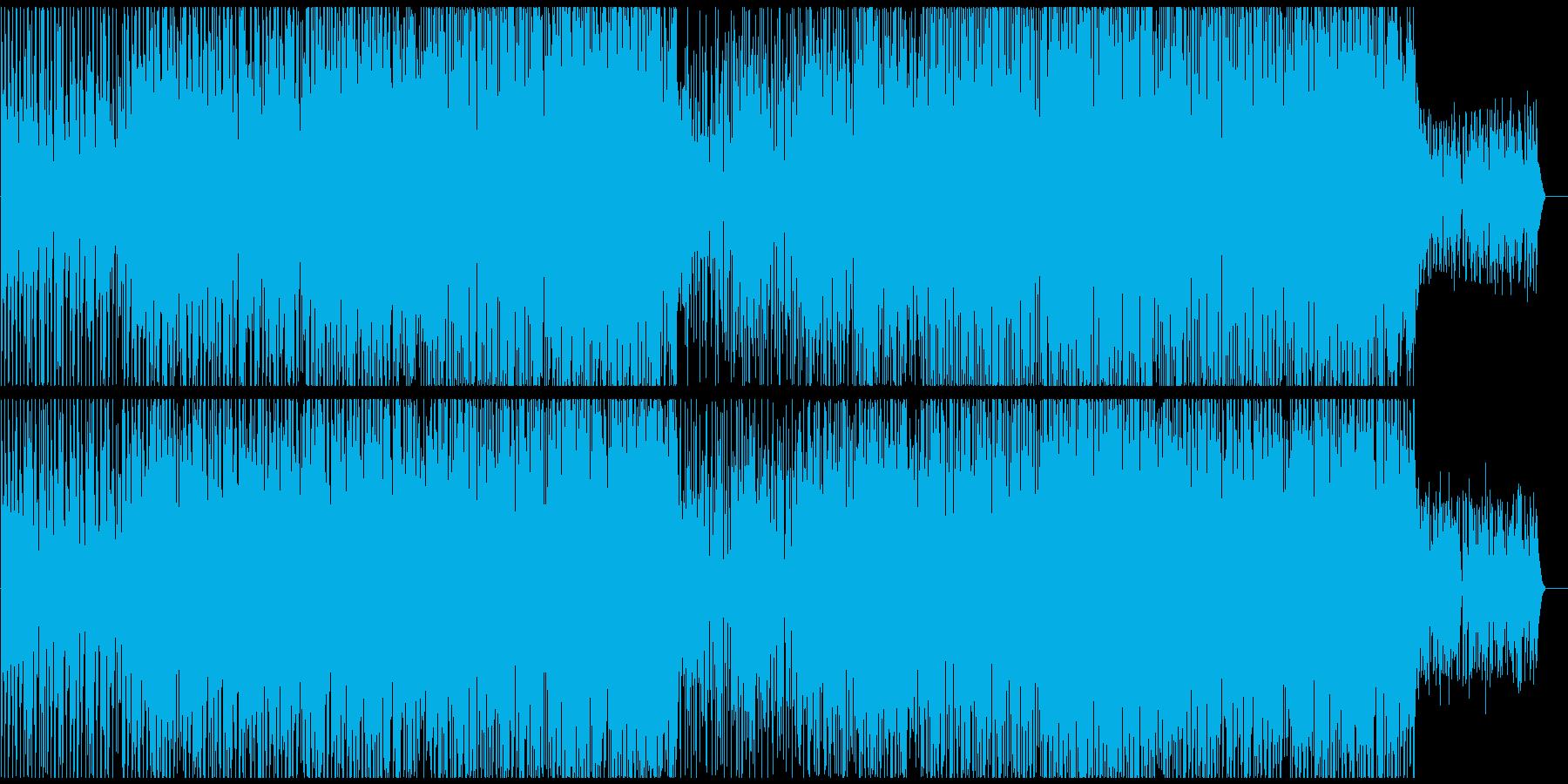 ウキウキするようなトロピカルハウスの再生済みの波形