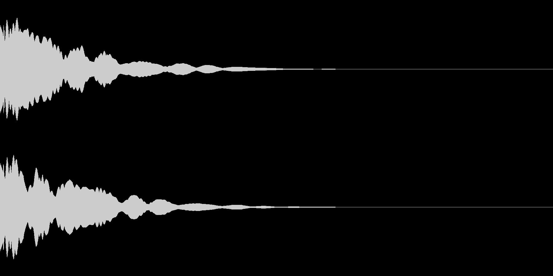 システム/金属/ベル/ポン/メタル/2の未再生の波形