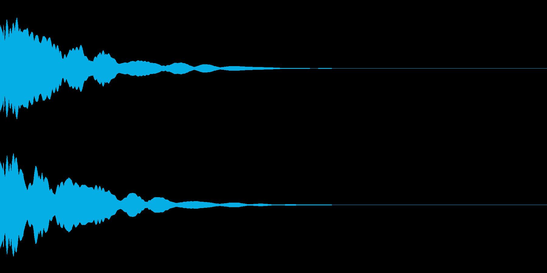 システム/金属/ベル/ポン/メタル/2の再生済みの波形