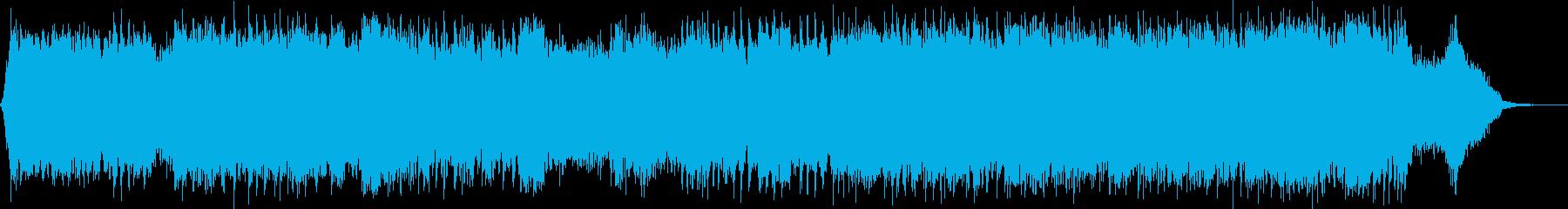 ダークファンタジーオーケストラ戦闘曲59の再生済みの波形