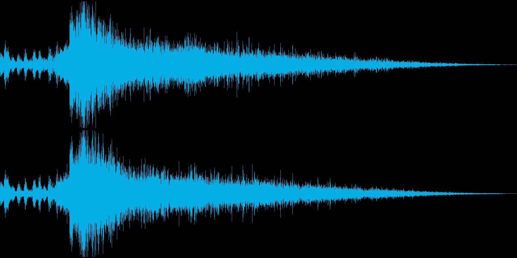 【ジングル】勝利!(イエーイ!ボイス付きの再生済みの波形