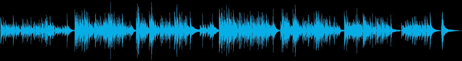 ソロギター。歌のように、シンプルで...の再生済みの波形