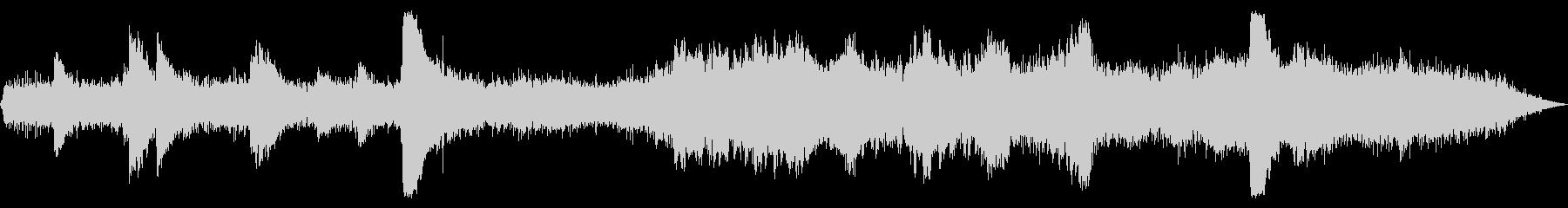 アンビエント風なホラー【ピアノ・ベル】の未再生の波形