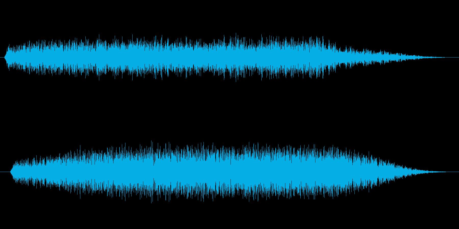緊張 邪悪な聖歌隊クラスター低01の再生済みの波形