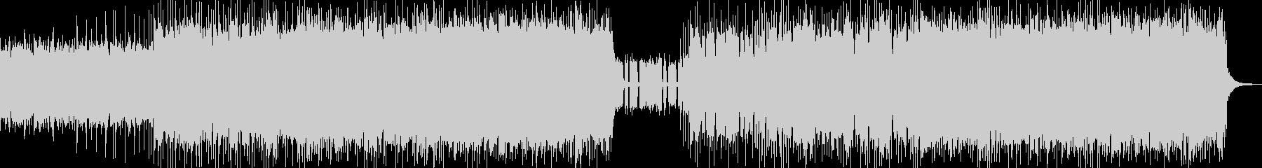 パンク 実験的な岩 バックシェイク...の未再生の波形