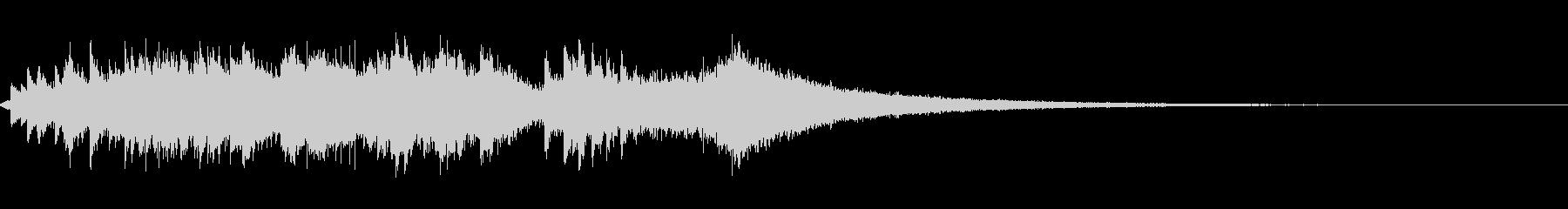 グロッケンシュピール:グリスドリー...の未再生の波形