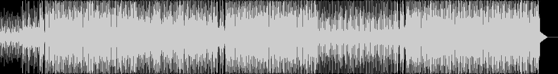 癖のないシンプルで、清潔感のあるEDMの未再生の波形