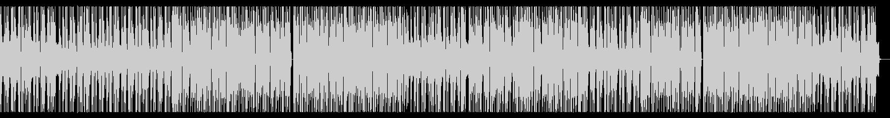 HIPHOP調のオープニングの未再生の波形