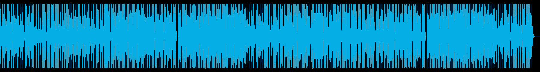 HIPHOP調のオープニングの再生済みの波形