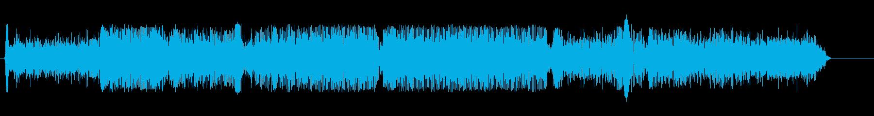 ドラッグスター;アイドル/回転、2...の再生済みの波形