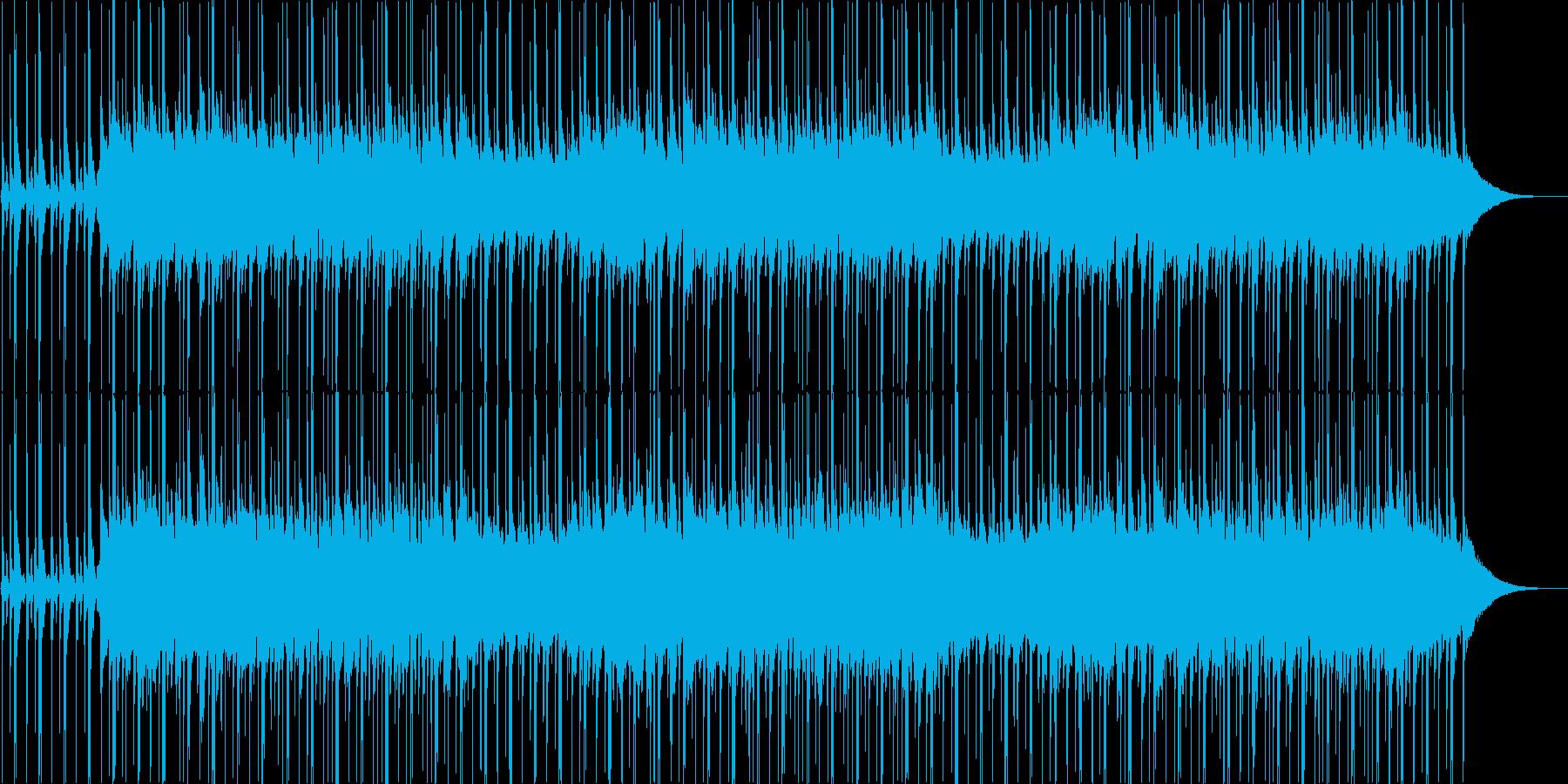 ピアノがかわいいアメリカ童謡の再生済みの波形