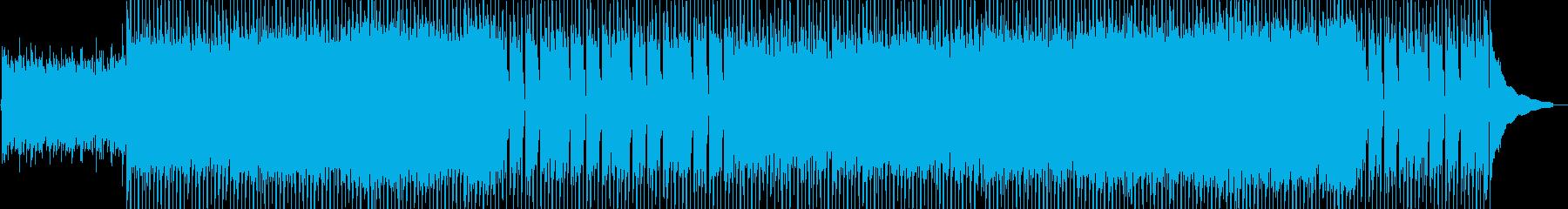 爽やか/アコースティックギターの再生済みの波形
