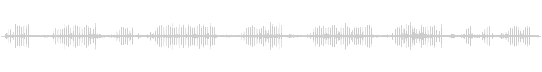 環境音 川の日鳥コール02の未再生の波形