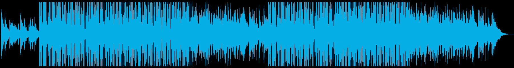 切ないローファイヒップホップ、チルアウトの再生済みの波形