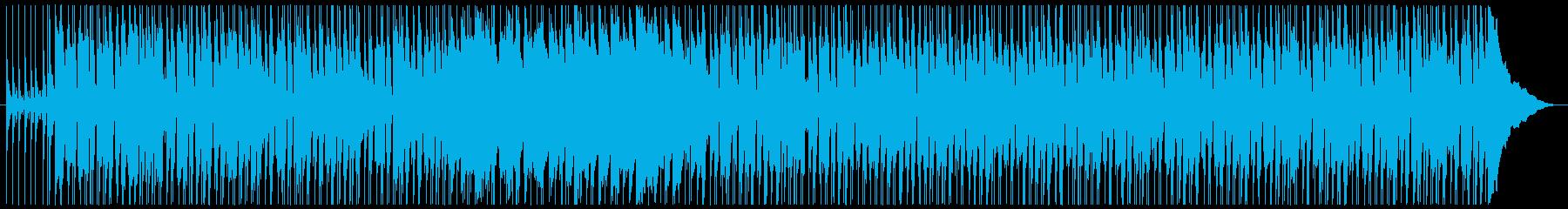 楽しい雰囲気のギターポップの再生済みの波形