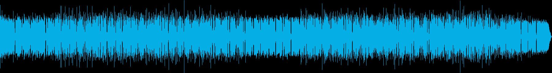 Lo-Fi Beats ボサノバ風の再生済みの波形
