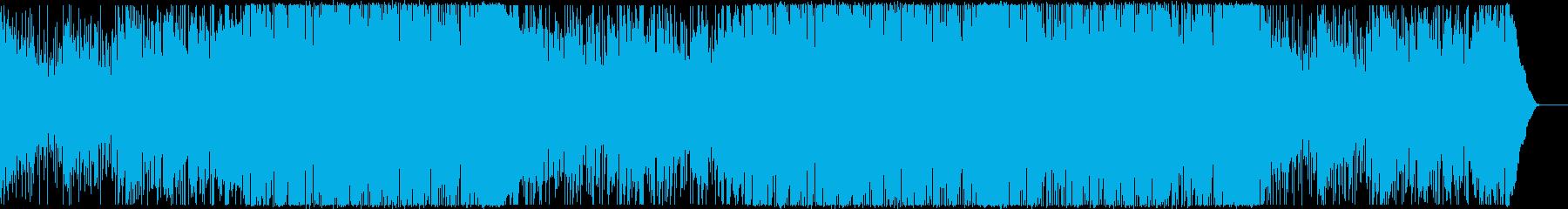 Youtube・楽しい・おしゃれ・ジャズの再生済みの波形
