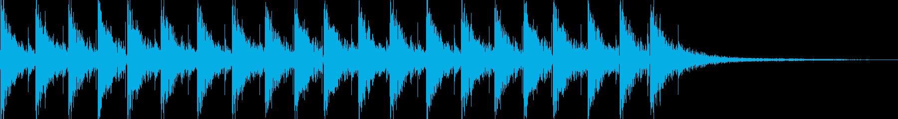 マシンガン発射2の再生済みの波形