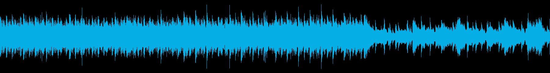 【和風】和楽器のみをによる荒々しい曲Cの再生済みの波形