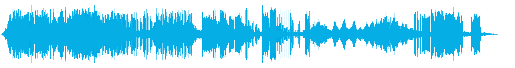 信号解釈の再生済みの波形