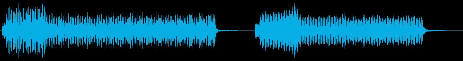 ムービングブレードフューチャーヘリ...の再生済みの波形