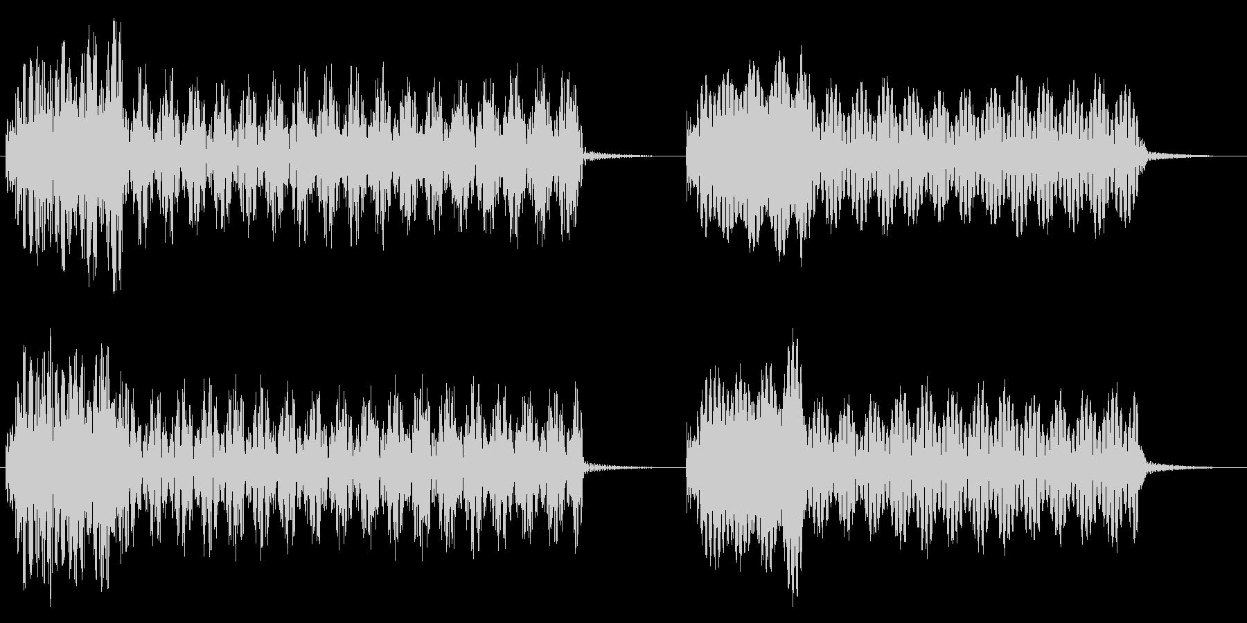 ムービングブレードフューチャーヘリ...の未再生の波形