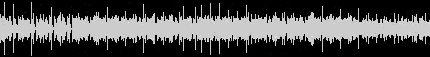 王道の四つ打ちサウンドの未再生の波形