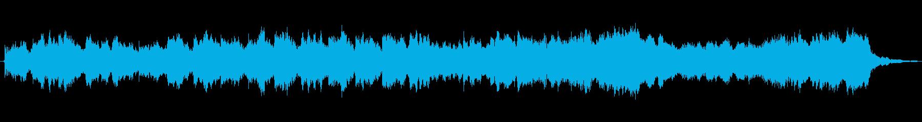 しっとりとしたストリングスアンサンブルの再生済みの波形