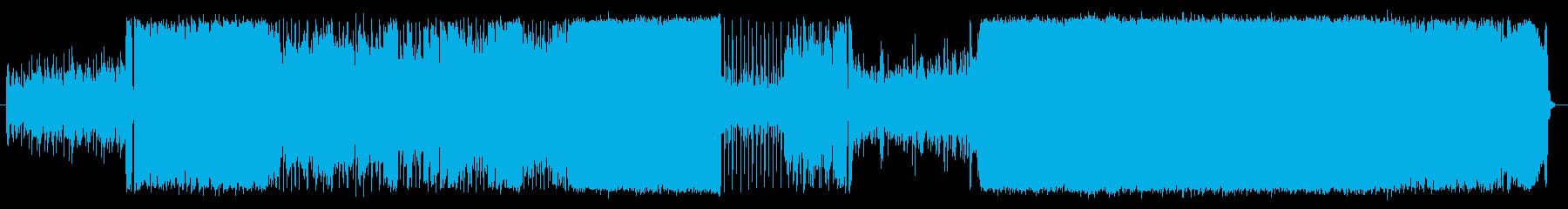 バラードインストの再生済みの波形