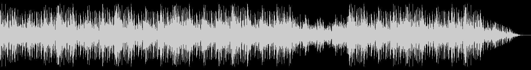 切ないメロディのピアノエレクトロ系BGMの未再生の波形
