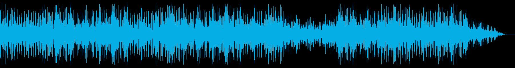 切ないメロディのピアノエレクトロ系BGMの再生済みの波形