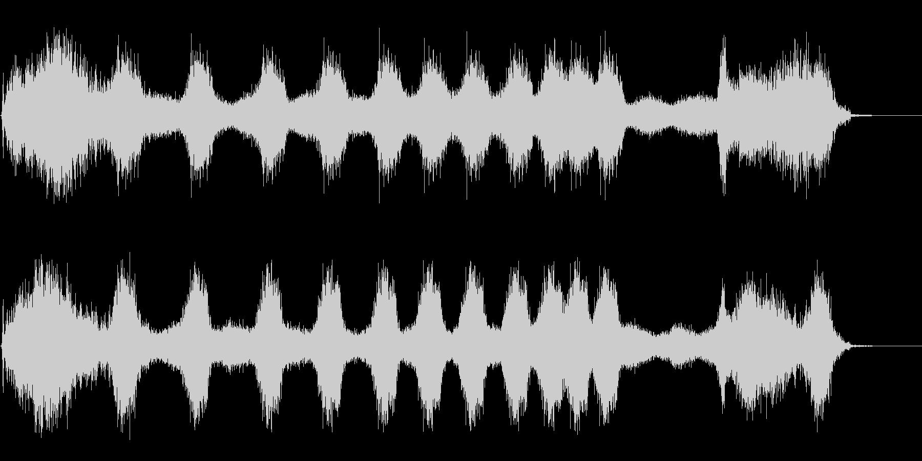 エネルギースワイプの未再生の波形