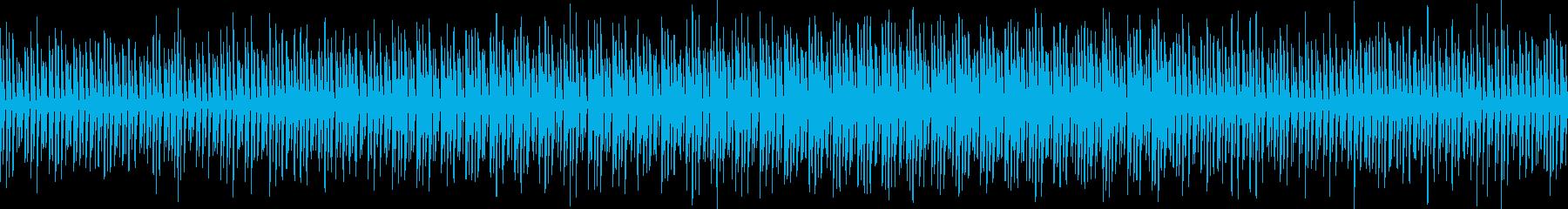 ゆるいアシッド風テクノ/ゲーム/戦闘洞窟の再生済みの波形