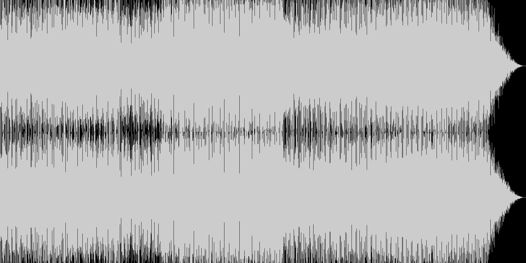 パワフルエレクトロニカメジャーの未再生の波形