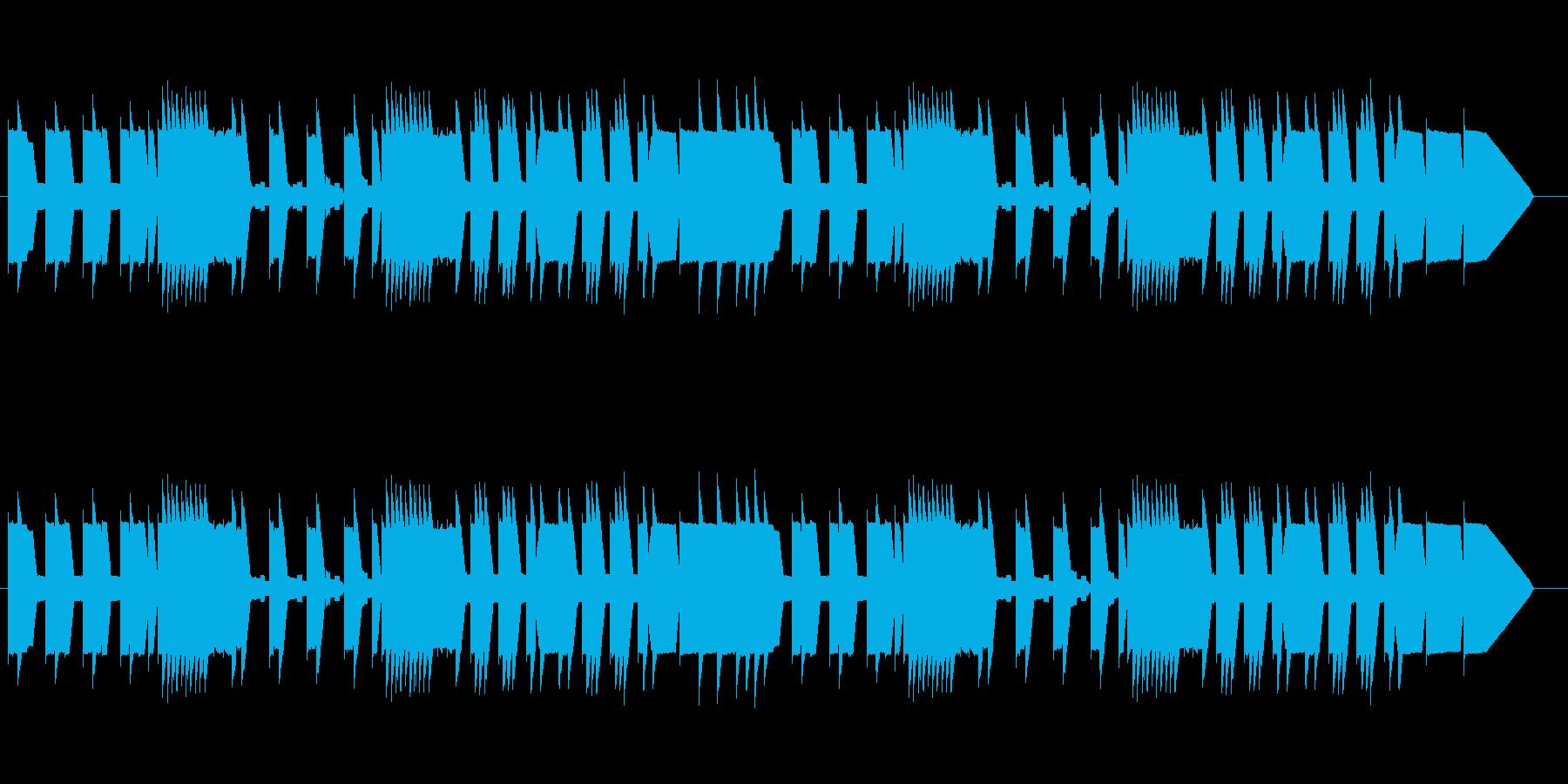 ゲームのフィールド曲風な楽曲です。ファ…の再生済みの波形
