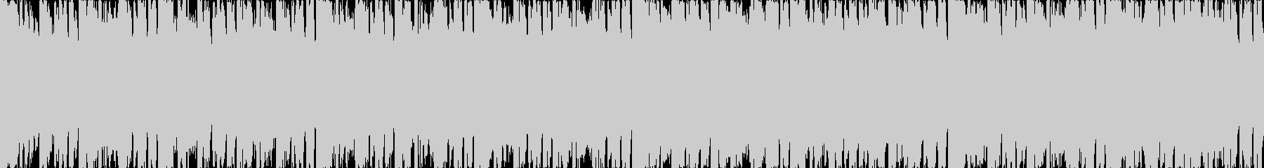 スピード感あるシンセ系短ループ曲の未再生の波形