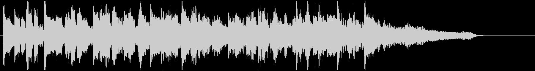 サックス生演奏のジャズ◆15秒CM向けの未再生の波形