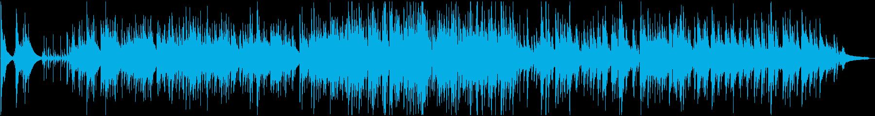 名曲『ゴンドラの唄』のトリオバージョンの再生済みの波形