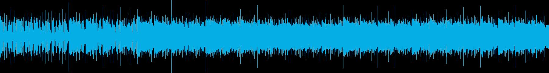 ジャジービートにアナログシンセが光りますの再生済みの波形