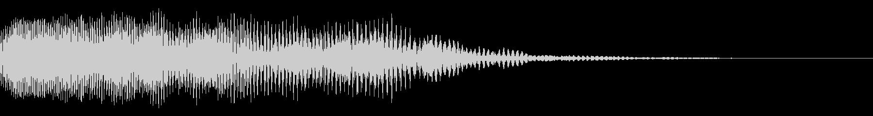 弱体化呪文のエフェクト_その3の未再生の波形