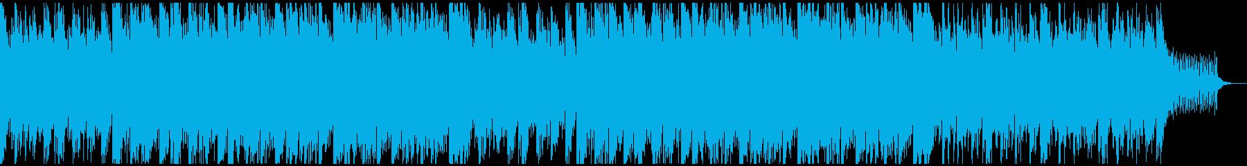 美しい優しいヴァイオリンのテクノポップの再生済みの波形