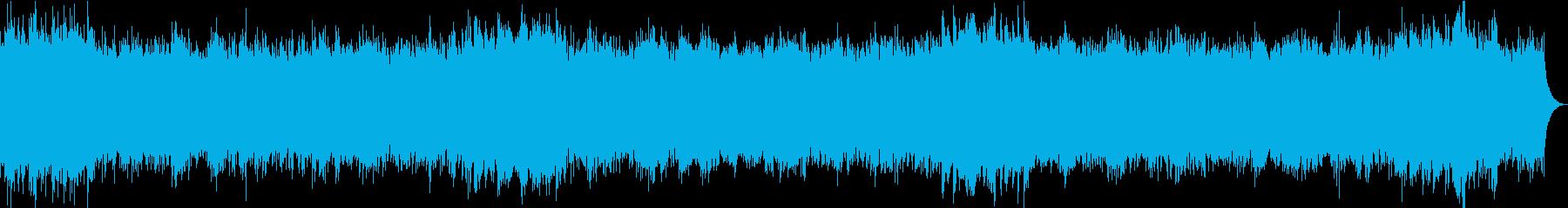 おだやかキラキ/静かめカラオケの再生済みの波形