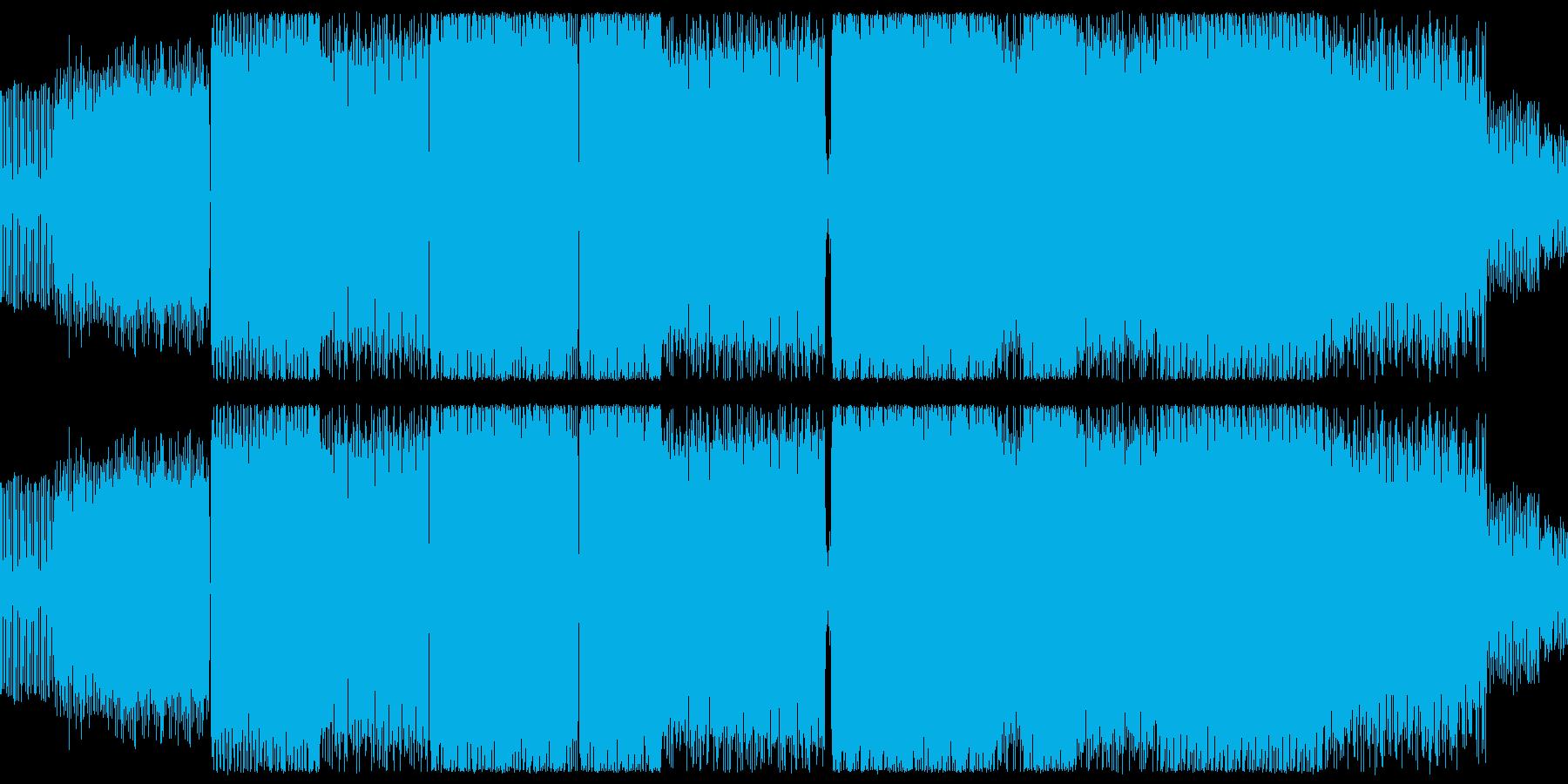 サンタナ70年代のハモンドサウンドの再生済みの波形
